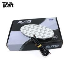 Tcart 4D автомобиля эмблема свет лампы светодио дный сзади знак стикер светодио дный свет 4D Логотип Легкие эмблемы светодио дный для KIA
