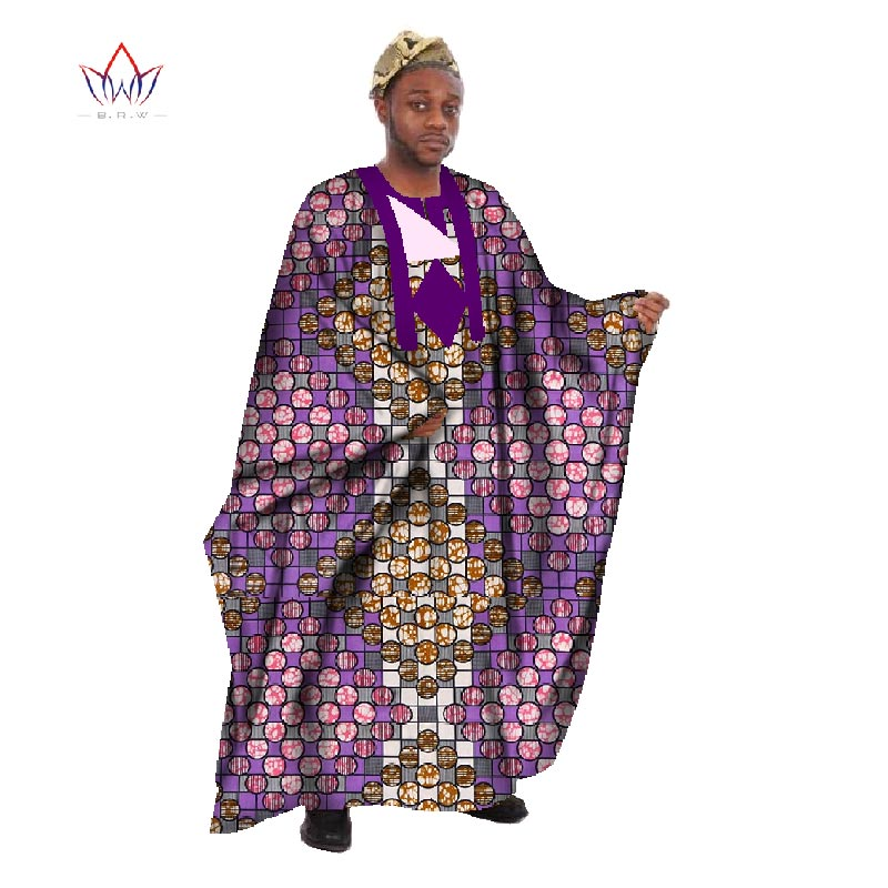 Egendefinert menn Afrikansk klær Langermet menn Løs Thobe Robe - Nasjonale klær - Bilde 6