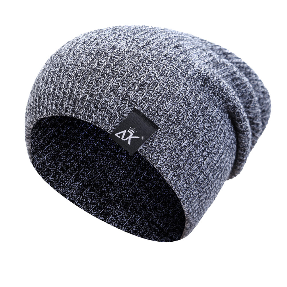 be6445afaef68 Hip-hop Acrylic Fibres Knitting Hat Keep Warm Winter Fur Ball Hat ...