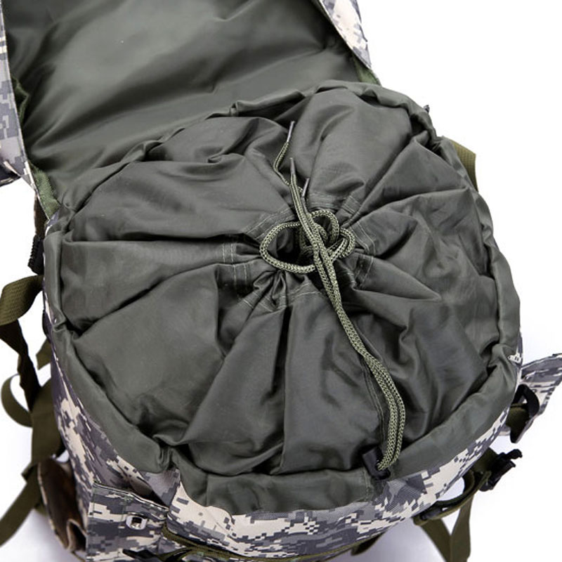80L Multifunction Outdoor Trekking Travel Rucksack Large Capacity Climbing Bags Camouflage Mochila Militar Tactical Backpack
