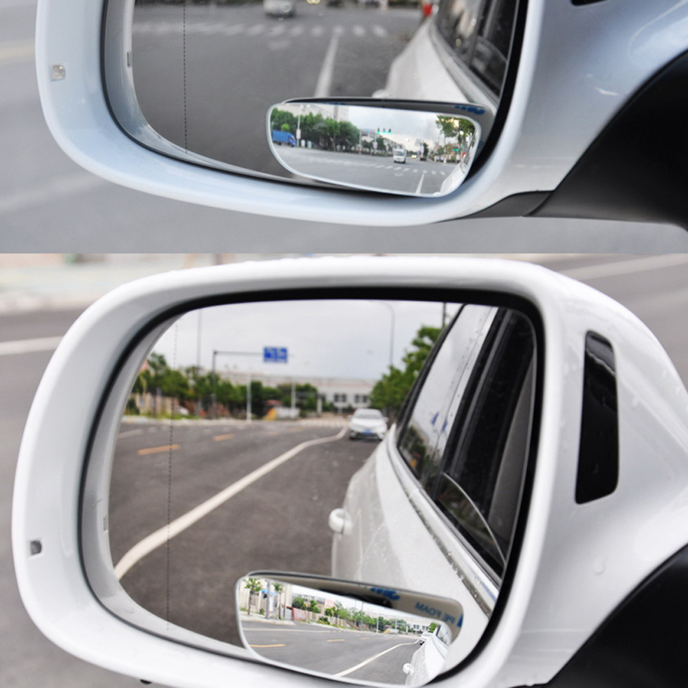 Round Convex Blind Spot Mirror for Parking Rear view FOR SAFETY