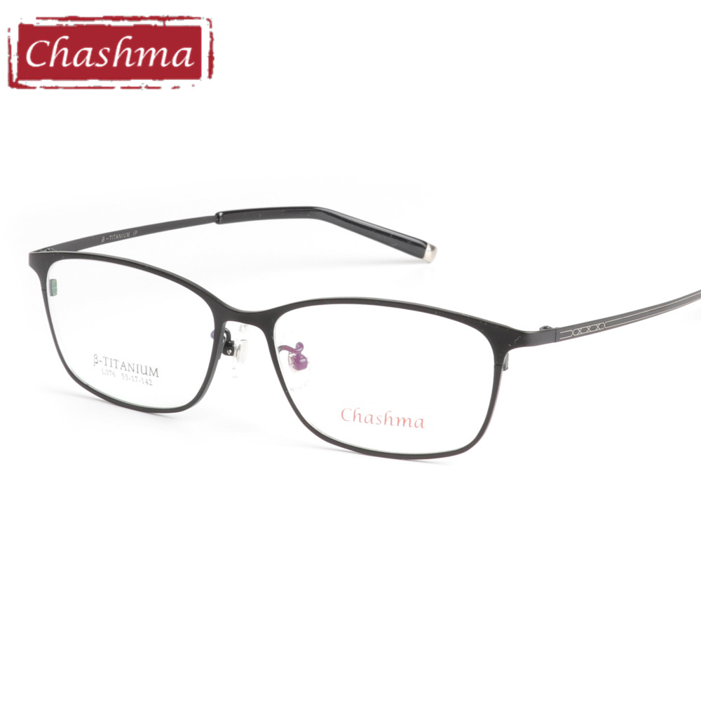 Eyewear Men Receptglasögon Frame Pure Titanium Light Spectacles oculos eye frames herrar