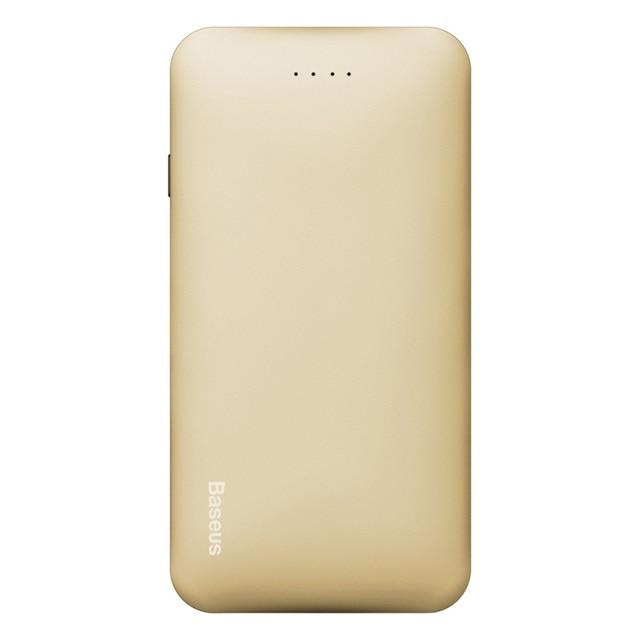 Для iPhone 6 s 4.7-inch Power Bank BASEUS Galaxy Серии 5000 мАч 2.1A USB Power Bank для iPhone iPad Samsung-Золото