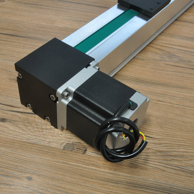 Free shipping high speed 500~3000mm stroke belt drive linear guide rail motion slide actuator module for cnc linear position kit