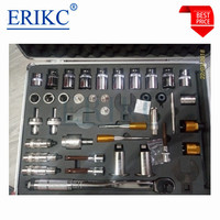 ERIKC 40pcs Universale Diesel Common Rail Tool Fuel Injector Removal Injectors Repair Tools Assemble Disassemble Instruments