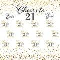 Фоны для фотосъемки с золотым узором в горошек для дня рождения на заказ 21