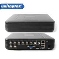 8 Channel Full D1 Network 8 Channel Recorder Real Time Recording 8Ch AHD 8CH 1080P 720P