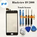 Blackview BV2000 Сенсорный Экран 100% Первоначально Дигитайзер Стеклянная Панель Замена Для Blackview BV2000 Мобильный Телефон-Бесплатная Доставка