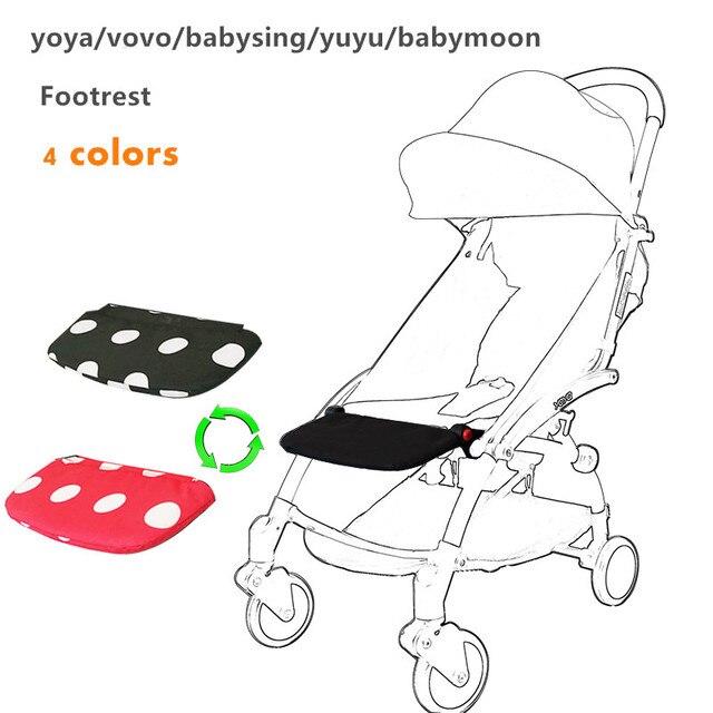 baby stroller accessory footrest black 16cm longer general footboard for babytime yoya stroller baby sleep extend board 4 colors