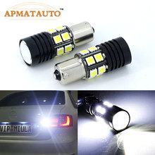 Pair 1156 P21W Q5 Chips No Error Car LED Rear Reversing Tail Light Bulb For Mercedes Benz C300 C260 C200 C63 C230 C280