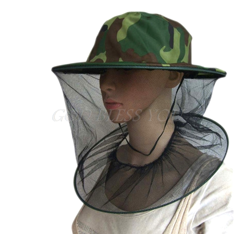 Beekeeping Tools Bee Hat Beekeeping Mesh Net Head Face Protector Cap Fly Mosquito Outdoor Camping Dropship Home & Garden