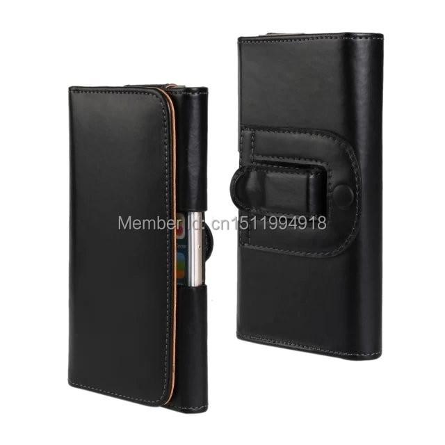 1 PCS Mode PU Kulit Belt Clip Kulit Pocuh Tutup Kasus untuk iPhone 6 - Aksesori dan suku cadang ponsel - Foto 2