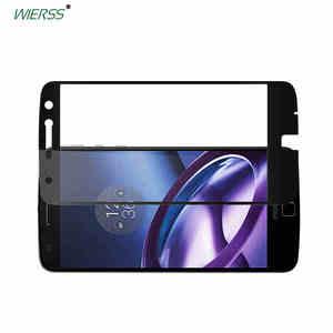 Закаленное стекло для Motorola Moto Z XT1650, полноразмерная Защитная пленка с полным покрытием экрана для Moto Z Droid edition