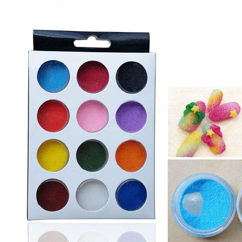 Նոր 12 գույներով Եղունգների արվեստի - Մանիկյուր - Լուսանկար 1