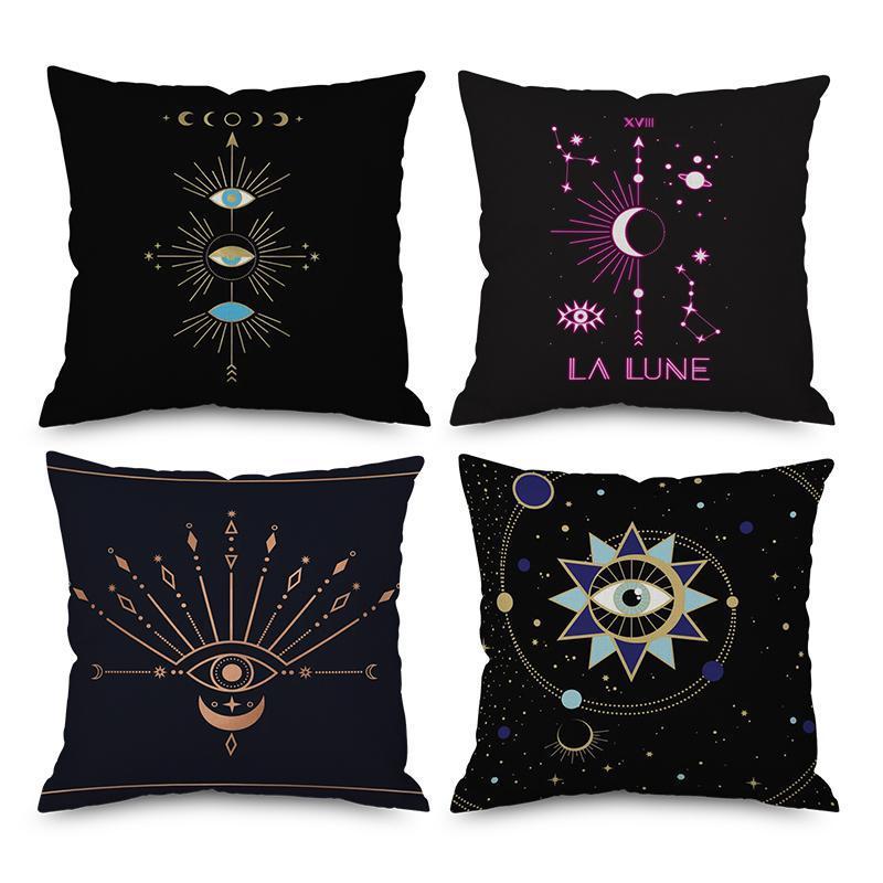 """Universe Starry Cotton Linen Throw Pillow Case Cushion Cover Home Decor 18/"""""""