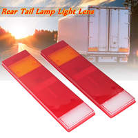 2x Rear Tail Light Lamp Lens For DAF CF MAN RENAULT SCANIA For VOLVO IVECO ERF