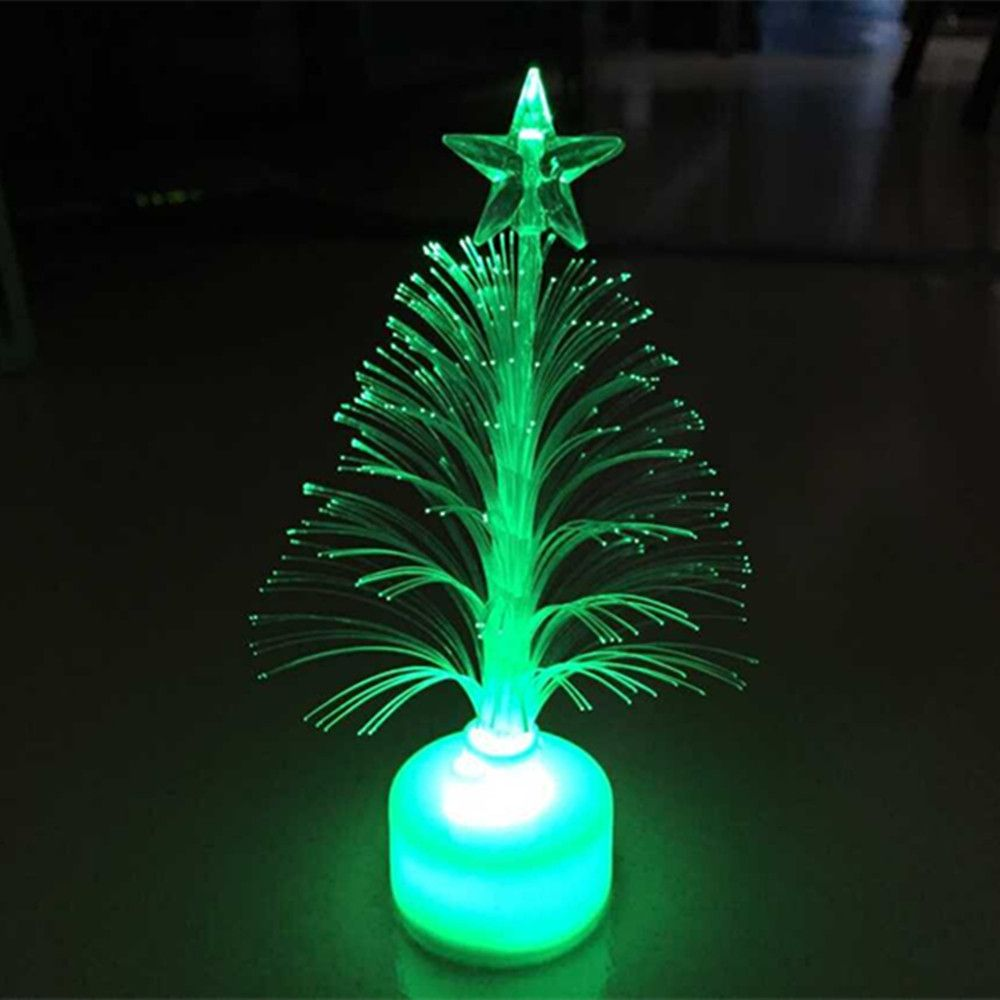 Hot sale Shining Christmas Xmas Tree Shape Color Changing LED Light ...