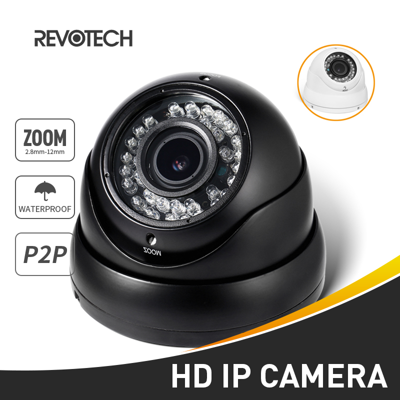 Waterproof 1080P 2 8 12mm Zoom IP Camera 2 0MP 36 LED Outdoor Security Camera ONVIF