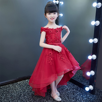 2018 Spring Children S Trailing Princess Dress Beauty Contest Stage Costumes Birthday Host Flower Girl Wedding