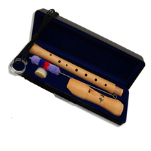 Wooden Recorder Soprano 8hole Germanic Vertical Clarinet Flute Chinese Wood Musical Instrument