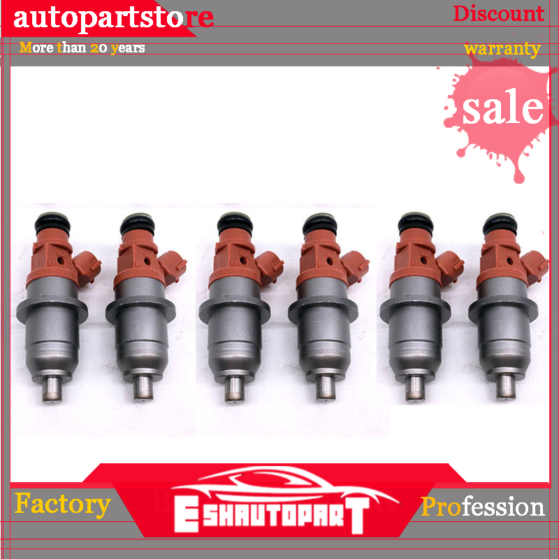 Flow Matched OEM Fuel Injectors CDH275 for Mitsubishi Yamaha 6 Set of Six