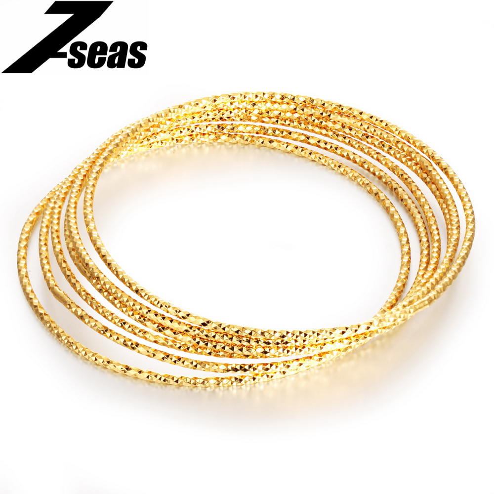 ethnic main of bollywood pakistani gold plated indian thin diameter bangles set inches size products