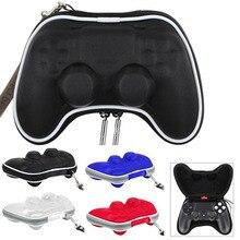 Juego de accesorios de viaje protector llevar la bolsa del caso para sony play station 4 controlador ps4 gamepad w/correa para la muñeca