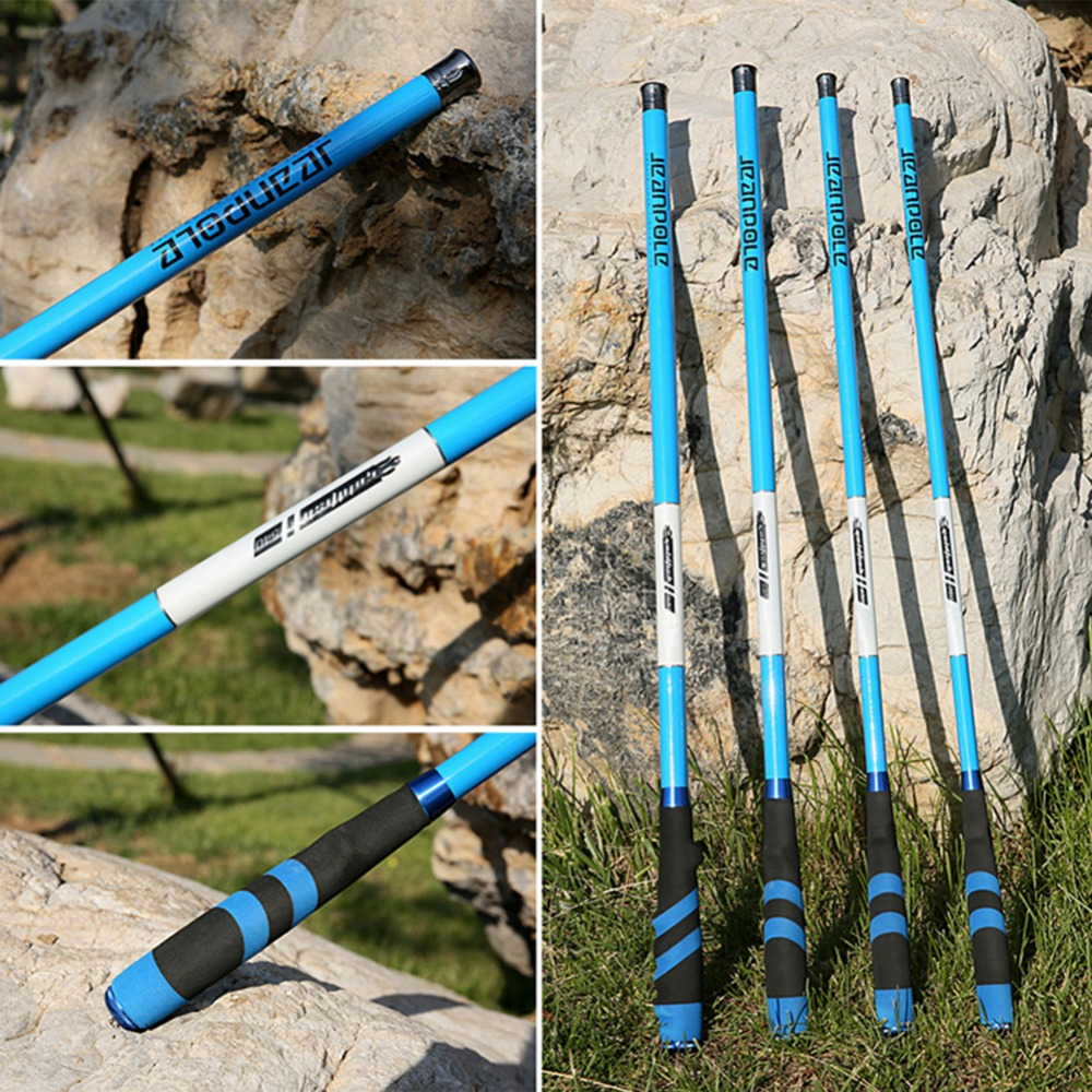 Image 2 - 3.6M 6.3M Rock Fishing Rod High Carbon Super Hard Telescopic Fishing Rod For Big Fish Baitcasting Rod Sea Rod Medium Fast-in Fishing Rods from Sports & Entertainment