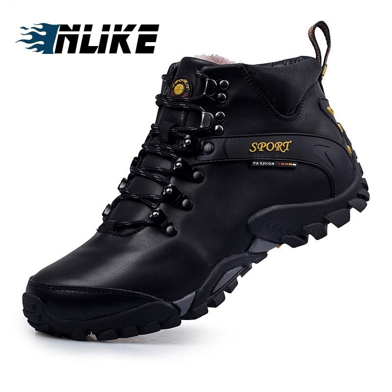 Calçado Botas Alta Masculinos Moda Tamanho Up Grande De Preto Couro Da Ankle Lace brown Qualidade Genuíno Rodada Toe Inlike Sapatos Homens Boots B6ftqwnp