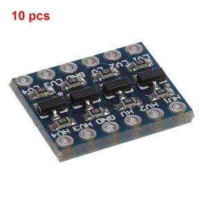 Image 2 - 10 stücke 3 5V 4 Kanal Logic Level Converter Bi Directional Shifter Modul Für IIC