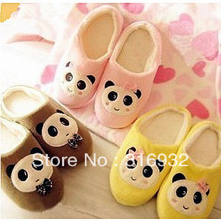 K5 Winter hot-selling panda home thermal cotton-padded slippers
