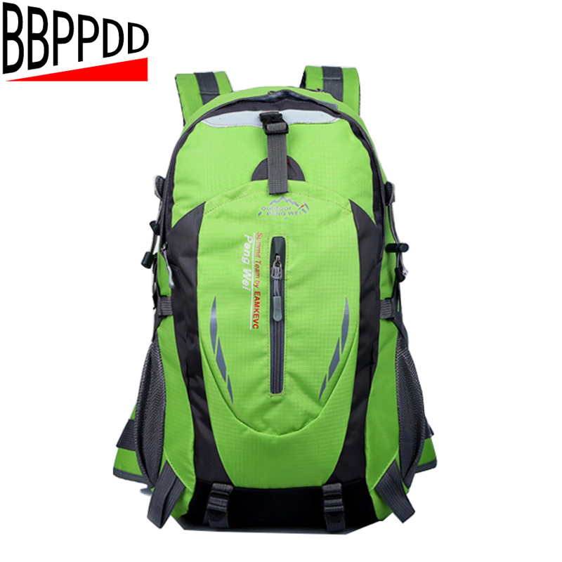 5956a81e82 BBPPDD 35L Waterproof Backpack Hiking Bag Cycling Climbing Backpack Travel  Outdoor Bags Men Women USB Charge Anti Theft Sports -in Backpacks from  Luggage ...