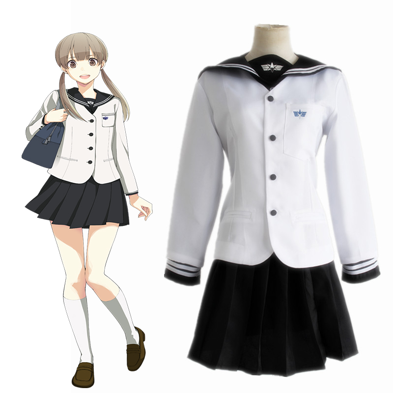 Anime Prince Of Stride: Alternative Cosplay Costumes Nana Sakurai Sailor Suits School Uniforms Halloween Carnival Party Cosplay