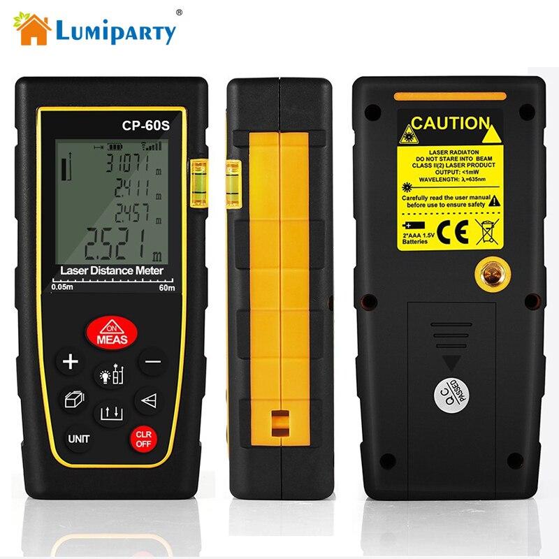 Lumiparty Digital Laser IR Distance Meter 50-100 Laser Rangefinder Meters Range Finder Measure Tape Diastimeter Distance Meter