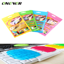 Car Sticky Clean Glue Keyboard Dust Cleaner Cleaning for Phones Printers Air Outlet Soft Glue Multiple Recycling Usuage