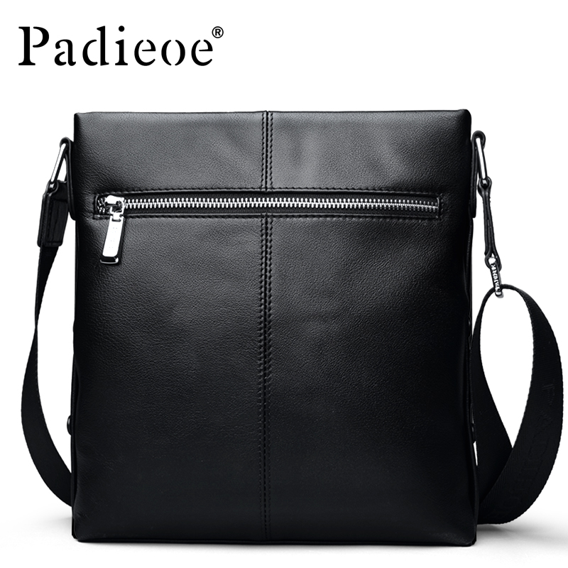 Leather cow business men bag casual shoulder men bag vertical section of the first layer of leather Messenger bag fashion simple famous brands first layer of leather woman bag autumn and winter fashion shoulder bag casual mobile messenger bag