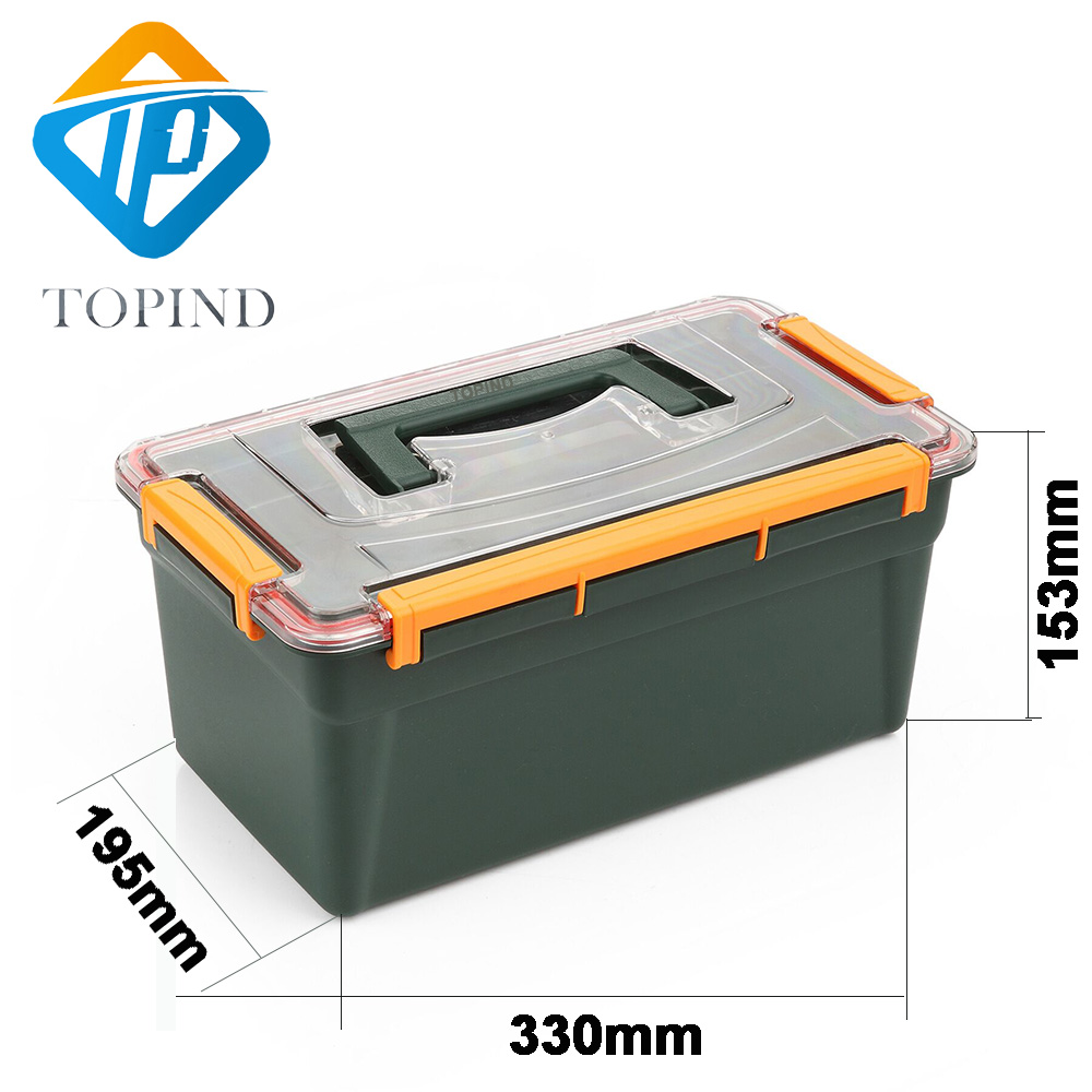 Large 2 Sided Tackle Box
