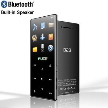 Nuevo reproductor de Metal Original con Bluetooth MP4 ruizu d29, reproductor de vídeo de música HiFi portátil sin pérdidas, altavoz integrado, Radio FM, E-book