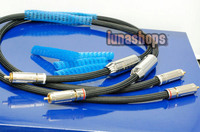 1.5m G7 Siltech 550i RCA Male Plug Speaker Hifi Audio Adapter Cable LN003886