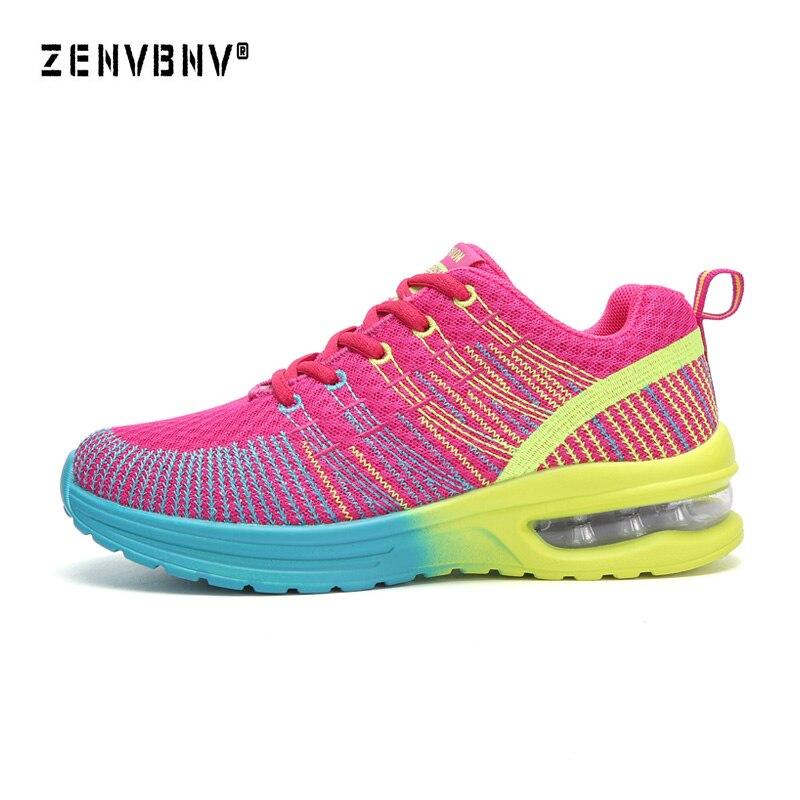 Zenvbnv 2018 mujeres zapatillas Air Mesh transpirable para mujer Zapatillas  deportivas al aire libre entrenadores de alta calidad Freeshipping 75f4f73682e