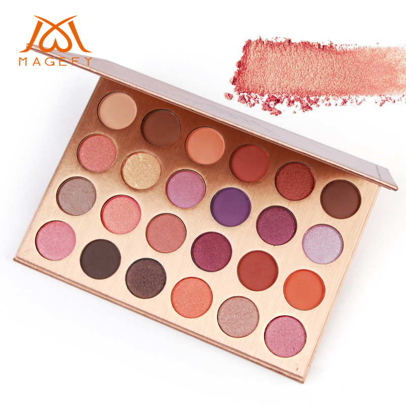 24 Colors Matte Eyeshadow Palette Nude Minerals Professional Eye Shadow Powder Cosmetic Waterproof Matte Makeup Eyeshadow TSLM1 eye shadow