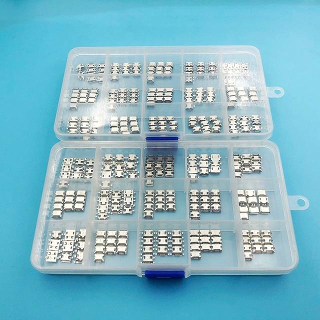 30 modelos micro usb 5 p 5 pinos micro usb jack 5 pinos cauda porto de carregamento tomada de alimentação usb
