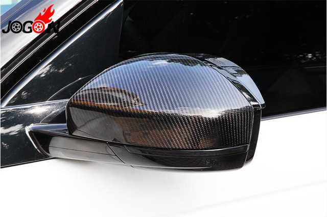 Carbon Fiber Rear View Rearview Mirror Cover 1 1