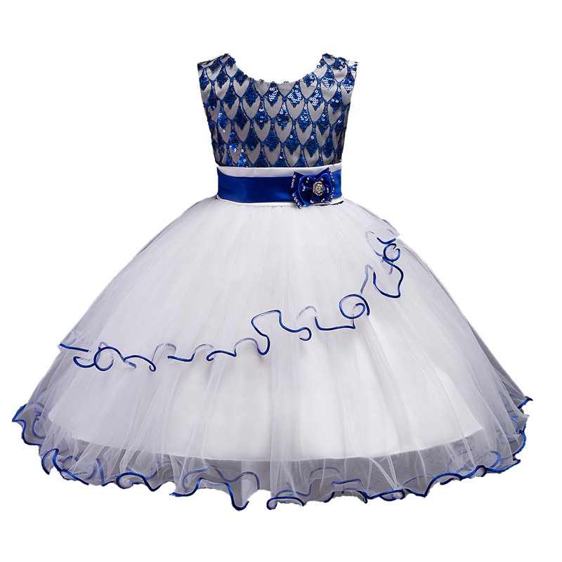 Girl party dress Sequins Christmas dresses for girls teenagers summer formal flower girl dresses girls gown dresses baby clothes girl party dress christmas dress for girl 2017 summer formal girl flower gir dresses junior girls prom gown dresses baby clothes