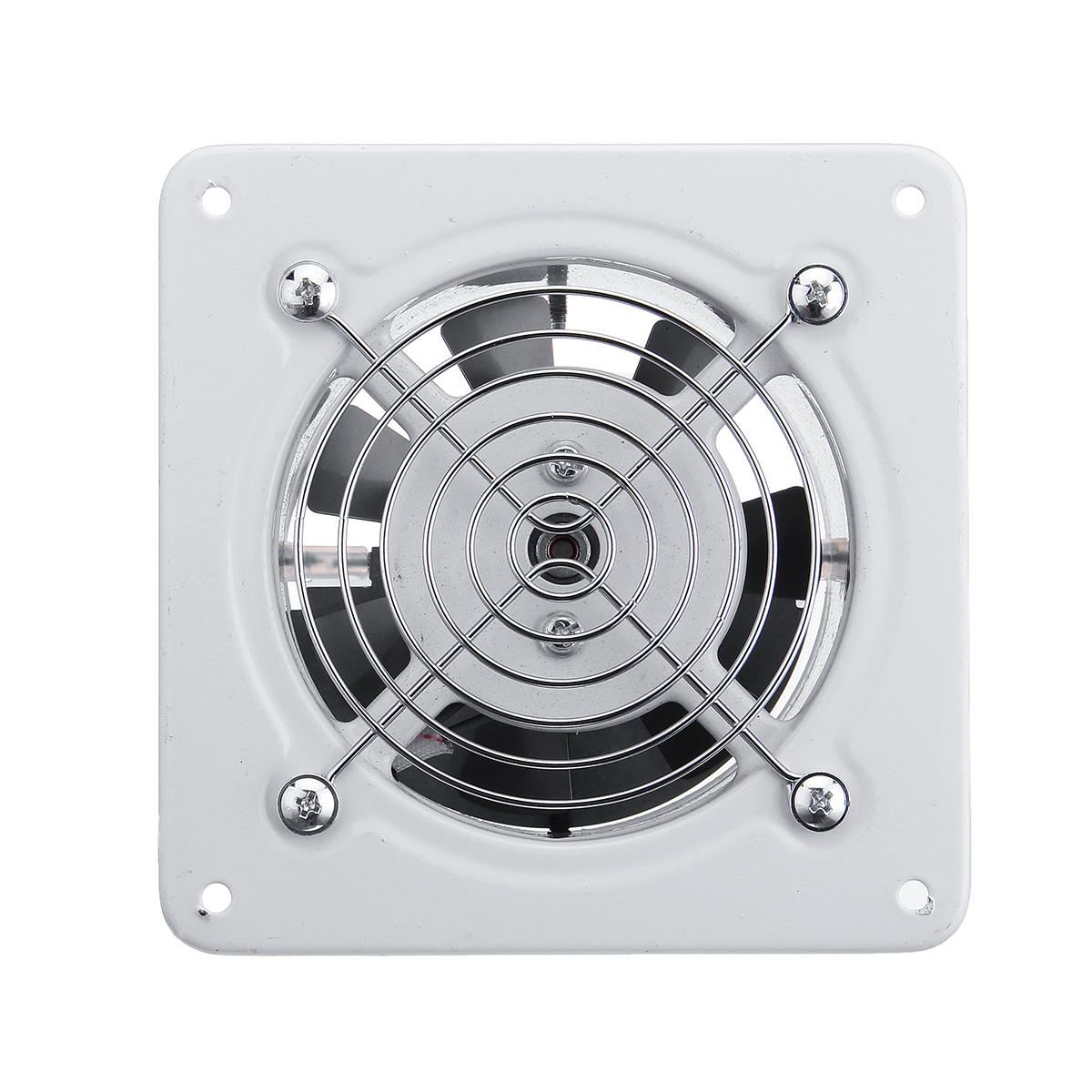 Latest Collection Of 4'' 220v 25w Exhaust Fan Window-type Silent Wall Extractor Air Vents Fan Window Bathroom Kitchen Toilet Ventilation Fan Be Friendly In Use
