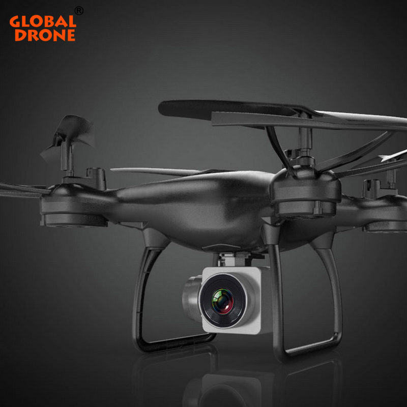 Global Drone Profissional Hover Quadrocopter Gravity Sensor Long Time Fly FPV Real Time Transmission Drones with