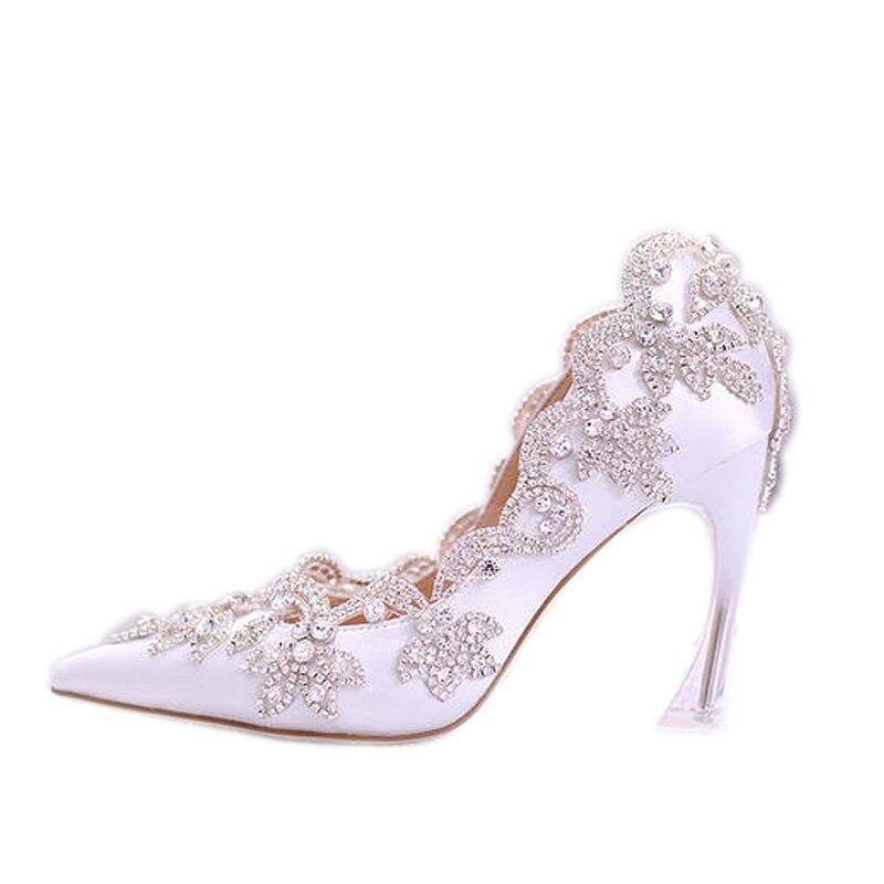 Personalizado Superficial 34 Blanco Elegante Diamante Ponited La 38 XPiTOukZ