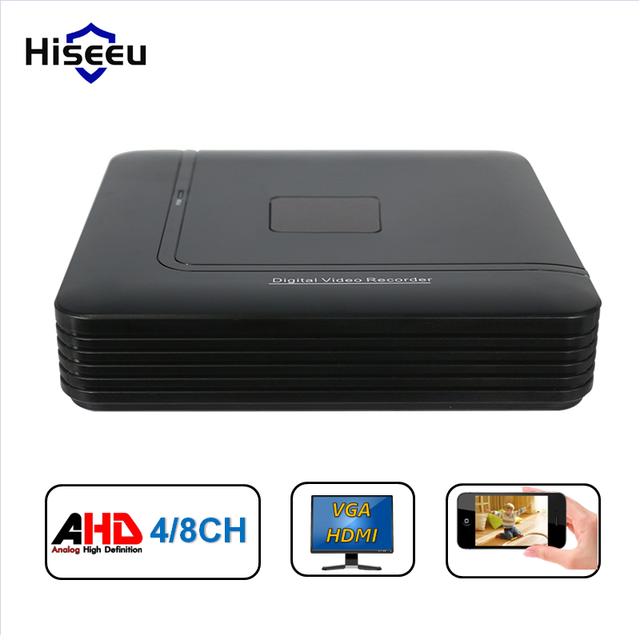 Cctv mini dvr de 4 canales 960 h grabador de vídeo digital de $ number canales $ number canales Sistema NVR HVR AHD DVR H264 P2P Seguridad Hogar de Energía de LA UE enchufe
