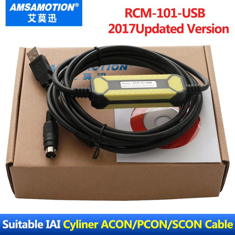Programming Cable RCM-101-USB For IAI Electirc Cylinder Driver ACON PCON SCON