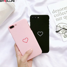 Фотография STROLLIFE Ultra thin Hard PC Phone Cases For iPhone 5s case Cute Cartoon Love Heart Print Couple Cover For iPhone5 SE Capa Coque